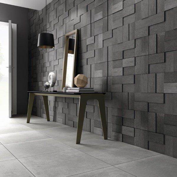 11 best images about fliesen in betonoptik on pinterest shops wands and fall. Black Bedroom Furniture Sets. Home Design Ideas