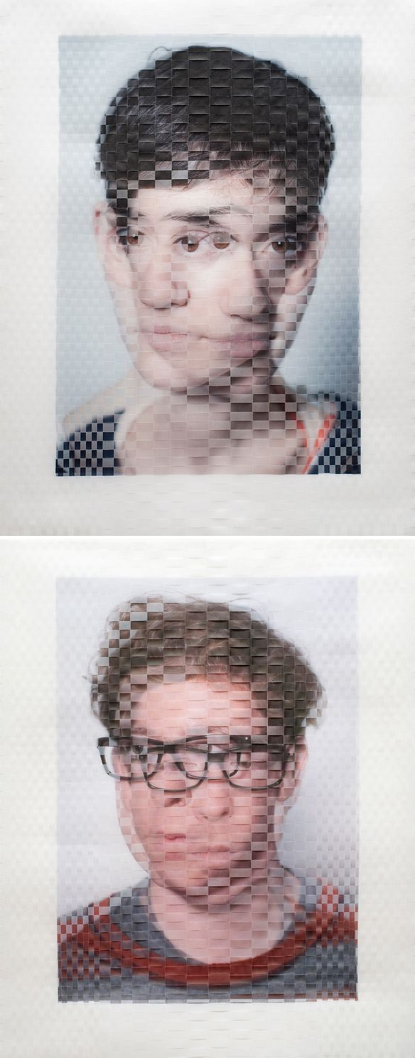 Eleanor   David Samuel Stern - Woven Photographs
