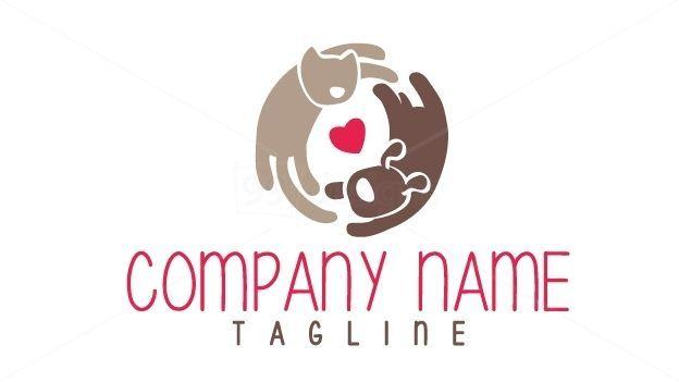 Cat And Dog Logo On 99designs Logo Store Catanime Dog Logo