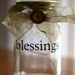 """Blessings Jar""- Fill the jar with all of the ways that God"