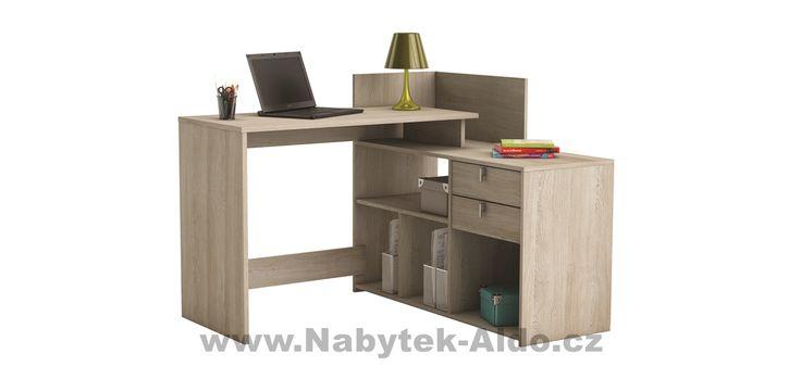 Rohový psací stůl Vista 357204