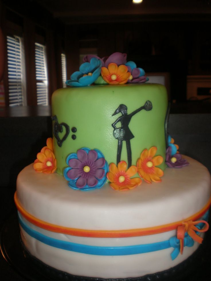17 Best images about Cakes on Pinterest Cheerleader ...