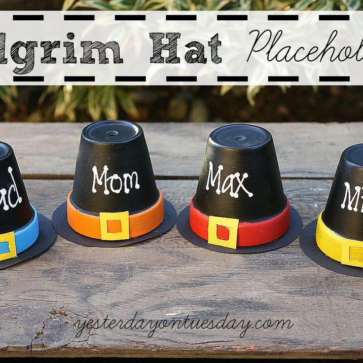 Pilgrim Hat Placeholders