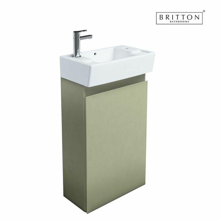 Britton Deep Floor Standing Unit and Washbasin