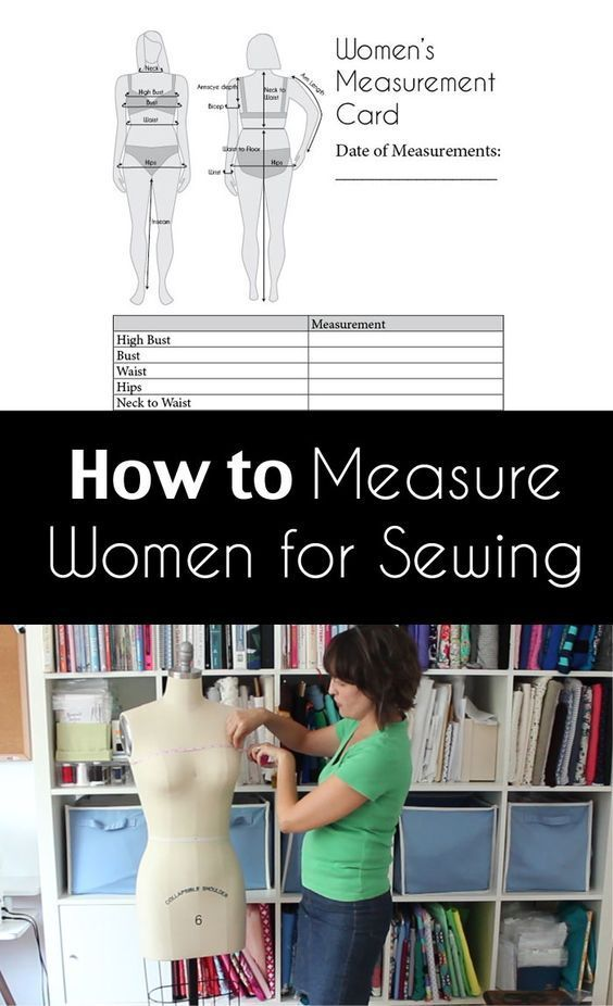 How to Measure Women for Sewing - Are You Doing it Wrong? Watch this Video and Make Sure You're Measuring Yourself Correctly