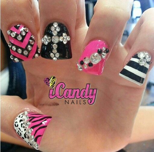 Fab nails not the shape. - 40 Best Nails.! Images On Pinterest Fingernail Designs, Duck Feet