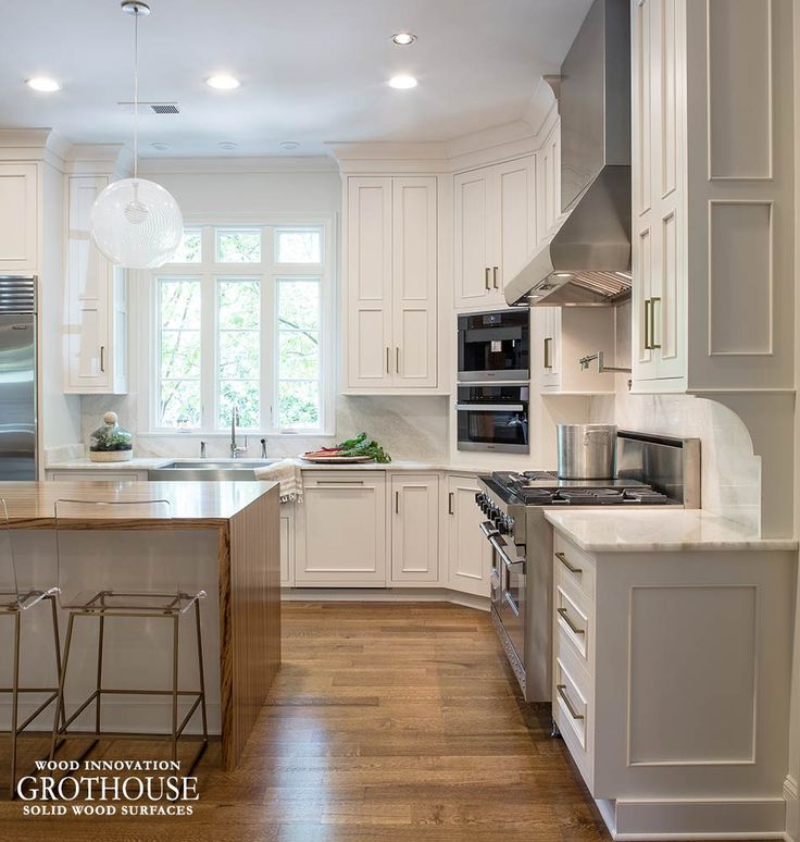Kitchen Counter Island Table: 17 Best Images About Kitchen Islands With Wood Countertops On Pinterest