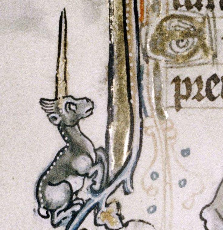 ca. 1320-1330. My Little Unicorn.