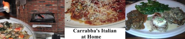 Carrabba's Italian Grill Copycat Recipes - also has links to tons of other recipes
