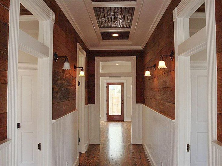 upcycled hallway barn door with transome window above - Google Search