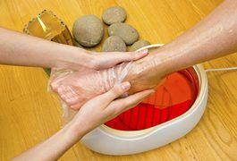 When paraffin wax melts, its soft consistency allows it to, in effect, fit your hand like a glove as you dip into it. And because paraffin can hang onto a lot of heat, it can then transfer this heat onto your hand and into aching joints and muscles, which results in increased blood flow. This effective heat transfer process is why paraffin wax...