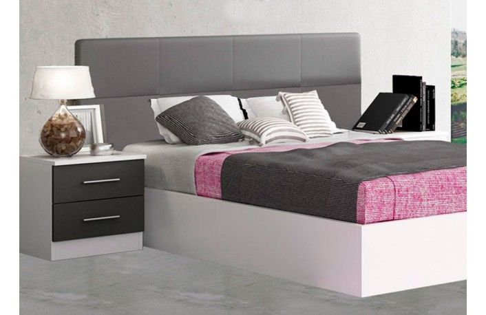 Dormitorios matrimonio baratos | venta online muebles BOOM | modelo 012 MAT BOO 01.