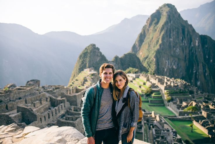 Amazing Honeymoon Destinations for Adventurous Newlyweds // Machu Picchu, Peru with Gal Meets Glam