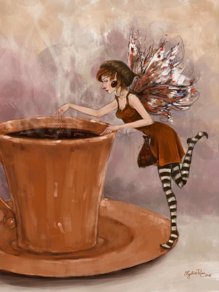 Coffee Fairy...My favorite fairy :)