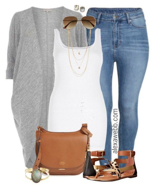 cool Plus Size Outfit Idea - Everyday Casual - Alexa Webb by http://www.polyvorebydana.us/curvy-girl-fashion/plus-size-outfit-idea-everyday-casual-alexa-webb/