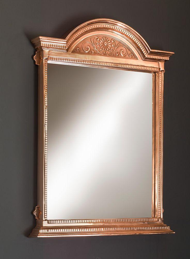 Cast Metal Mirror | Bathroom Accessories | Buy Online at Catchpole & Rye