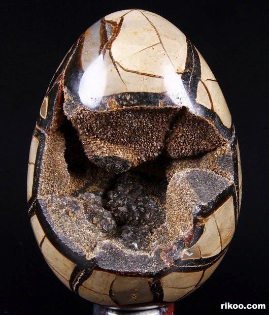 Dragon Septarian Stone Crystal Ball