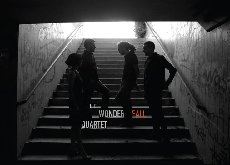 Concept Art for the new The Wonderfall Quartet album by QuietRoom http://quietroom.gr/  Upcoming CD release in April of 2014!  Photo by Yannis Fountoulakis - Photographer