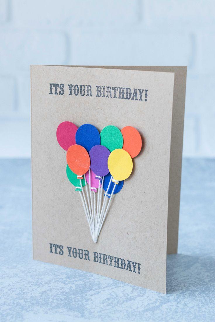 10 simple diy birthday cards  simple cards handmade