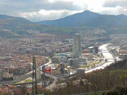 Vistas de Bilbao desde el Monte Archanda