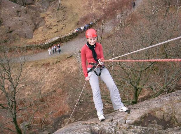 Abseiling: one of the more traditional outdoor activities and still a firm favorite,rightly so! Not to extreme but great for a family or group.