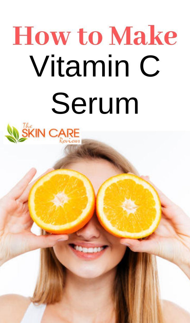 How To Make Your Own Vitamin C Serum At Home Diy Vitamin C Serum Vitamin C Serum Natural Skin Care