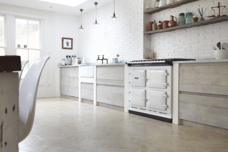 Blakes London, Designer Is In, Scandi Renovation Kitchen, White Aga | Remodelista