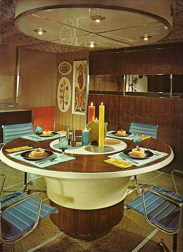 1970s Architectural Digest Kitchen