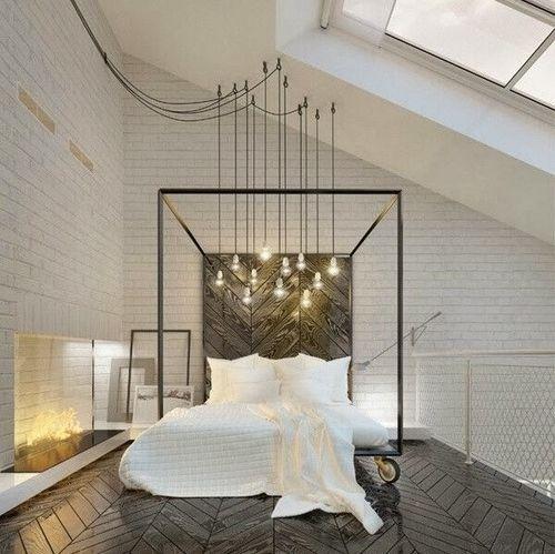 3 Tips And 25 Ideas For A Modern Bedroom: 25+ Beste Ideeën Over Schuin Plafond Slaapkamer Op