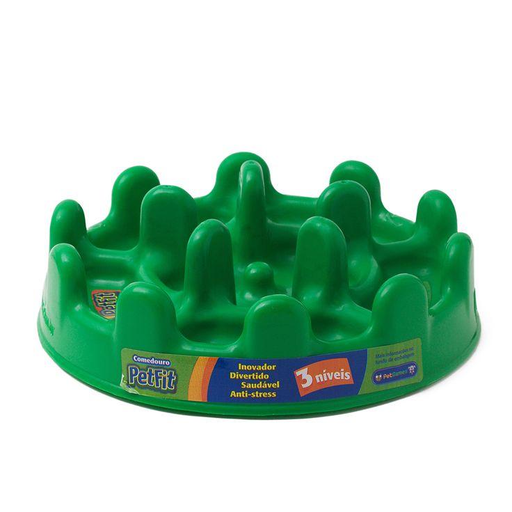 Comedouro Interativo Lento PetFit Pet Games- Verde. #petmeupet #comedouro #comedourolento #petgames #desconto #promocao #cachorro #gato