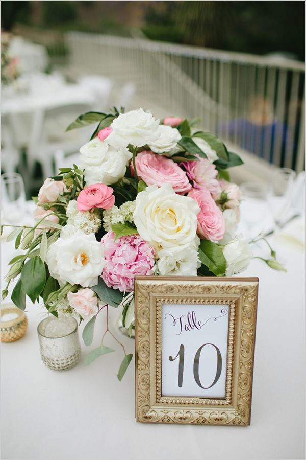 framed table numbers #tablenumbers @weddingchicks