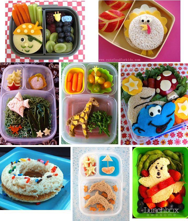 cute for kids lunch for school