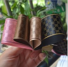 38MM high quanlity satin ribbon can customize logo