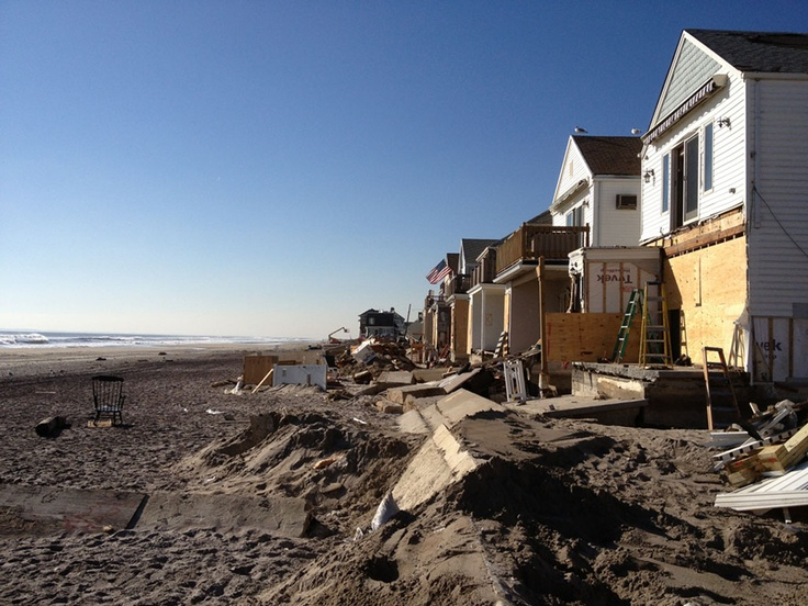 My son and I will never forget the #Sandy devastation seen while volunteering in #FarRockaway: My Son
