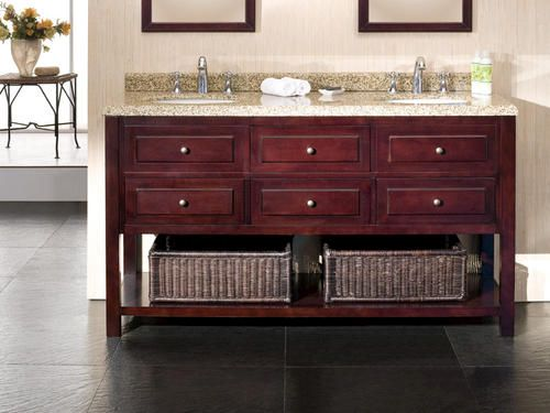 Danny 60'' Bathroom Vanity Menards $1,299: Danny 60, Ove Decor, House Ideas, Transitional Bathroom, Bathroom Vanities, 60Inch Transitional, Bath Vanities, Bathroom Redu, Bathroom Ideas