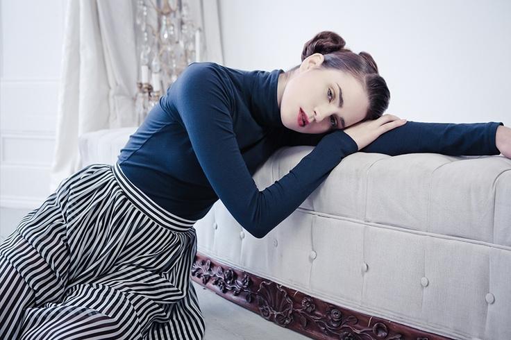 Fashion#white/darkblue#hairbyme#zoekramer#stylist