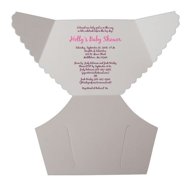 best  diaper invitation template ideas on   diaper, Baby shower