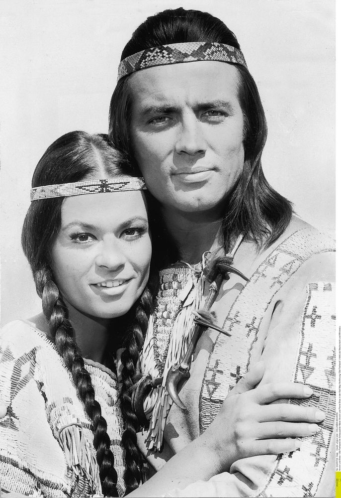 Pierre Brice Marie Versini in Winnetou 1