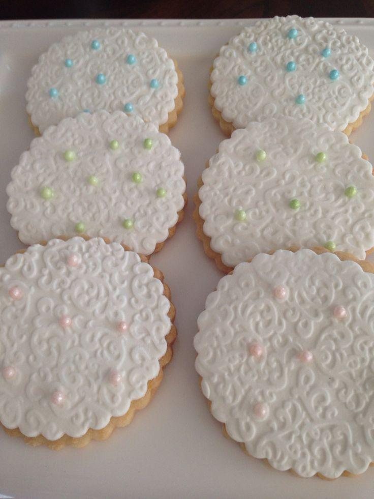 Elegant butter cookies