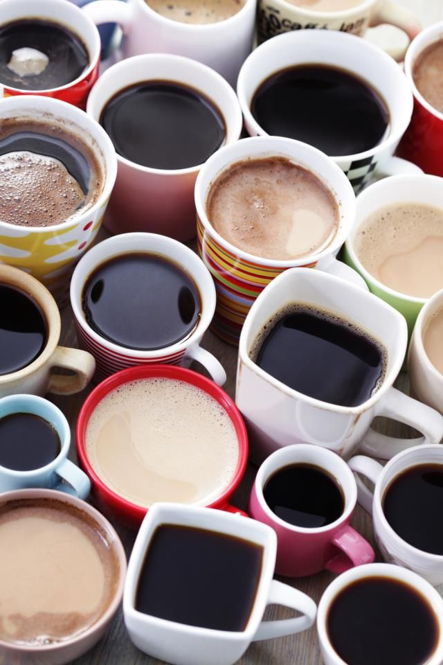 all shapes and sizes #coffee