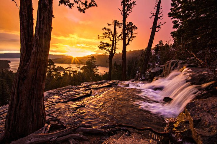 Sunrise at Eagle Falls by Wesley Aston on 500px