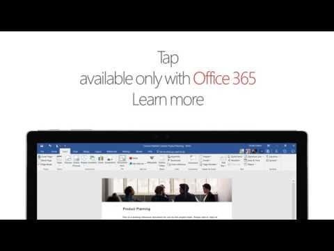 В Word и Outlook появилась функция #Tap. Теперь добавлять информацию из других документов стало еще проще #Office365 https://www.youtube.com/watch?v=cf2ZTQ9Iu2E