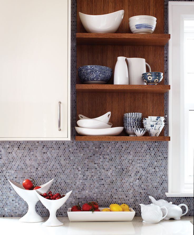 Open Concept Kitchen Shelves: Open-concept Kitchen Design: How To Turn Three Rooms Into One