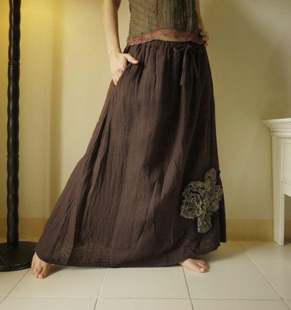 Chocolate Skirt