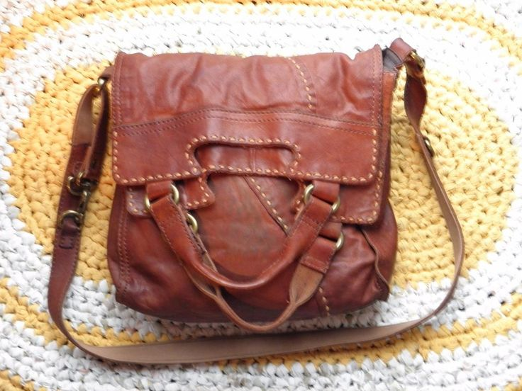LUCKY BRAND ABBEY ROAD CROSSBODY BAG-BOURBON BROWN-ELENA'S BAG-VAMPIRE DIARIES  #LuckyBrand #CrossbodyMessenger BUY IT NOW $99.99 ON EBAY-ITEM #201797103589 -SOLD- On it's way to IOWA!