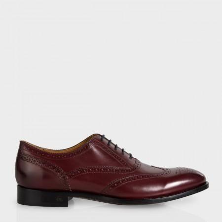 Paul Smith Men's Shoes - Bordeaux Leather 'Christo' Brogues
