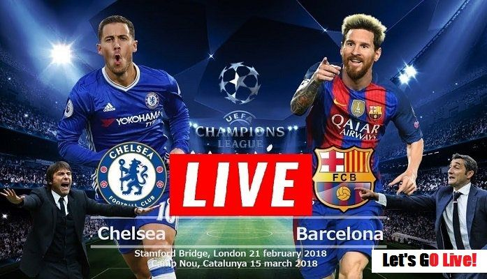 Barcelona vs chelsea live stream channel
