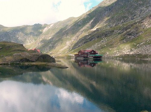 Bilea lake (2030 m) Fogaras' Mountains, Transylvania