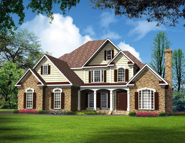 109 best simple house plans images on Pinterest   House floor ...