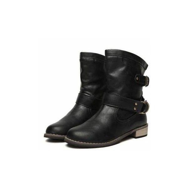 Mer enn 25 bra ideer om Black biker boots på Pinterest